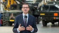 Premier Mateusz Morawiecki: Rekordowe zamówienia dla polskich zakładów od polskiej armii - miniaturka