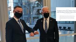 Druga rozmowa prezydentów Polski i USA! Biały Dom opublikował komunikat - miniaturka
