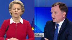 Min. Ziobro o propozycji szefowej KE: ,,Przewodnicząca nie zna traktatów''  - miniaturka