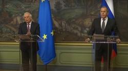 Szef dyplomacji UE spotkał się rosyjskim ministrem. ,,Będziemy rozwijać dialog'' - miniaturka
