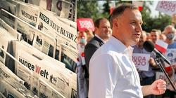 """Knajacki język niemieckich mediów. Tym razem prezydenta Dudę atakuje """"Die Welt"""" - miniaturka"""