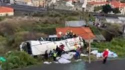 Wypadek autokaru na Maderze. Są zabici i ranni - miniaturka
