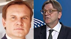 Tarczyński: Verhofstadt i jego spółka dostają pieniądze od Gazpromu. Wiadomo, kim jest i o co walczy - miniaturka