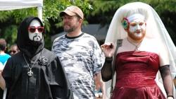 Poznań: ,,Drag queen'' czytał dzieciom bajki. ,,Mogłaby pani grać główną rolę w horrorze'' - miniaturka