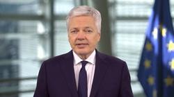 Didier Reynders przyjedzie do Polski. Chce rozmawiać o praworządności - miniaturka