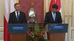 Prezydent na Węgrzech: Strzeżemy granicy ze wszystkich sił - miniaturka
