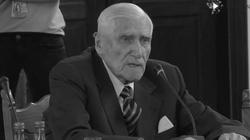 ,,Człowiek, który zawsze walczył o Polskę''. W Warszawie pożegnano prof. Witolda Kieżuna - miniaturka