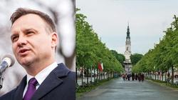 Piękne słowa prezydenta Dudy skierowane do rolników na Jasnej Górze - miniaturka