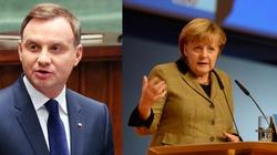Duda i Merkel: Każdy, kto podważa więź atlantycką, szkodzi Europie - miniaturka