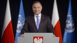 Prezydent upomina się o Nawalnego w ONZ: Wzywam do jego uwolnienia!  - miniaturka