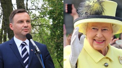 Prezydent Duda złożył gratulacje królowej Elżbiecie II - miniaturka