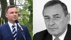 Prezydent Duda w Siedlcach. Rocznica śmierci Zbigniewa Romaszewskiego - miniaturka