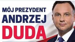 Straż Miejsca zrywa plakaty Dudy w Warszawie. Porozumienie zawiadamia prokuraturę - miniaturka