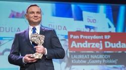 Prezydent Duda: Nie byłoby tego radosnego dnia, gdyby nie śp. Lech Kaczyński. To ogromnie wzruszająca chwila - miniaturka