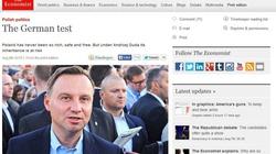 The Economist straszy Dudą: Z Dudą u władzy dziedzictwo Polski jest zagrożone - miniaturka
