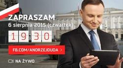 Andrzej Duda zaprasza na czat - miniaturka