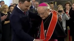 Urodziny abp. Hosera. Prezydent: Wzór człowieka wiary i służby - miniaturka