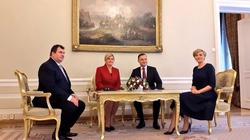 Rozpoczęła się oficjalna wizyta prezydent Chorwacji - miniaturka