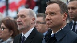 Macierewicz: Mam nadzieję, że polskie F-16 znajdą się w bazach na Bliskim Wschodzie jeszcze przed szczytem NATO - miniaturka
