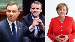 Niezwykle istotne spotkanie Dudy, Merkel i Macrona - miniaturka