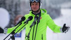 Prezydent Andrzej Duda znowu pokazał, jak jeździ się na nartach! - miniaturka