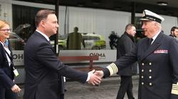 Prezydent Duda w norweskiej bazie wojskowej o bezpieczeństwie Europy - miniaturka