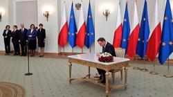 Prezydent Duda: Jestem szczęśliwy, że mogę złożyć podpis pod ustawą Rodzina 500plus! - miniaturka