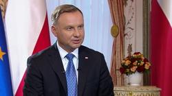 Sondaż. Większość Polaków pozytywnie ocenia prezydenturę Andrzeja Dudy - miniaturka