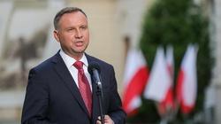 Prezydent Duda zabiera głos ws. stanu wyjątkowego na granicy z Białorusią - miniaturka