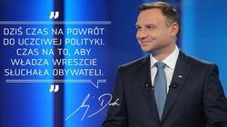 Punkty dla Dudy za dynamizm i obronę polskości! - miniaturka