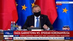 (Transmisja) Posiedzenie Rady Gabinetowej pod przewodnictwem prezydenta Dudy - miniaturka