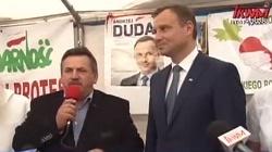 Andrzej Duda udał się do protestujących rolników - miniaturka
