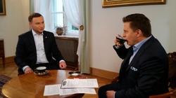 Andrzej Duda: Jestem bezpardonowo atakowany przez Ewę Kopacz, ale nie dam się wciągnąć w kampanię - miniaturka