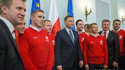 Prezydent do sportowców: Dziękuję za ten dobry rok. ZOBACZ ZDJĘCIA! - miniaturka