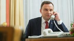 Prezydent prowadzi ważne rozmowy z przywódcami państw przed swoją wizytą w USA - miniaturka