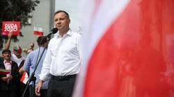 Duda: Nie dopuszczę do powrotu polityki wstydu i zwijania Polski - miniaturka