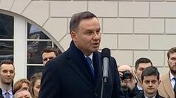"""Prezydent Andrzej Duda udzielił wywiadu """"Washington Post"""" - miniaturka"""