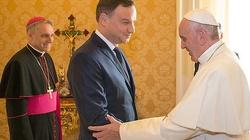 Andrzej Duda po spotkaniu z Papieżem: Papież przyjedzie do Polski! - miniaturka