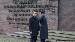 """Prezydent Andrzej Duda oddał hołd górnikom poległym w kopalni """"Wujek"""". ZOBACZ ZDJĘCIA! - miniaturka"""