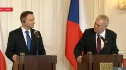 Zeman: UE niech pilnuje granic zamiast krytykować Polskę - miniaturka
