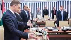 Prezydent Duda w Jordanii o współpracy wojskowej - miniaturka