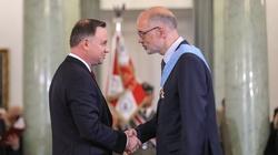 Prezydent odznaczył zasłużonych. Wśród nich prof. Andrzej Nowak. Gratulujemy! - miniaturka