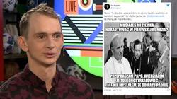 Obrzydliwy wpis Kapeli! Aktywista drwi ze śmierci bł. ks. Popiełuszki  - miniaturka