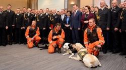 Szef MSWiA nagrodził strażaków - miniaturka