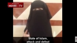 """Skandaliczne! Zwolennicy ISIS opublikowali w sieci nagranie z dziewczynką w roli """"kata""""! - miniaturka"""