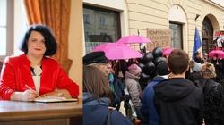 Barbara Dziuk dla Frondy: Spełnione kobiety nie chodzą na takie strajki - miniaturka