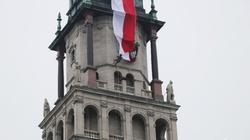 Prezydent podarował Jasnej Górze 100-metrową flagę - miniaturka