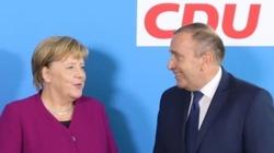 Schetyna już po audiencji u Merkel. Ależ uradowany! - miniaturka