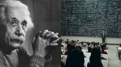 Dialog Einsteina (?) z niewierzącym profesorem - miniaturka