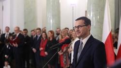 Premier Mateusz Morawiecki: Służba dla Rzeczypospolitej to zaszczyt  - miniaturka